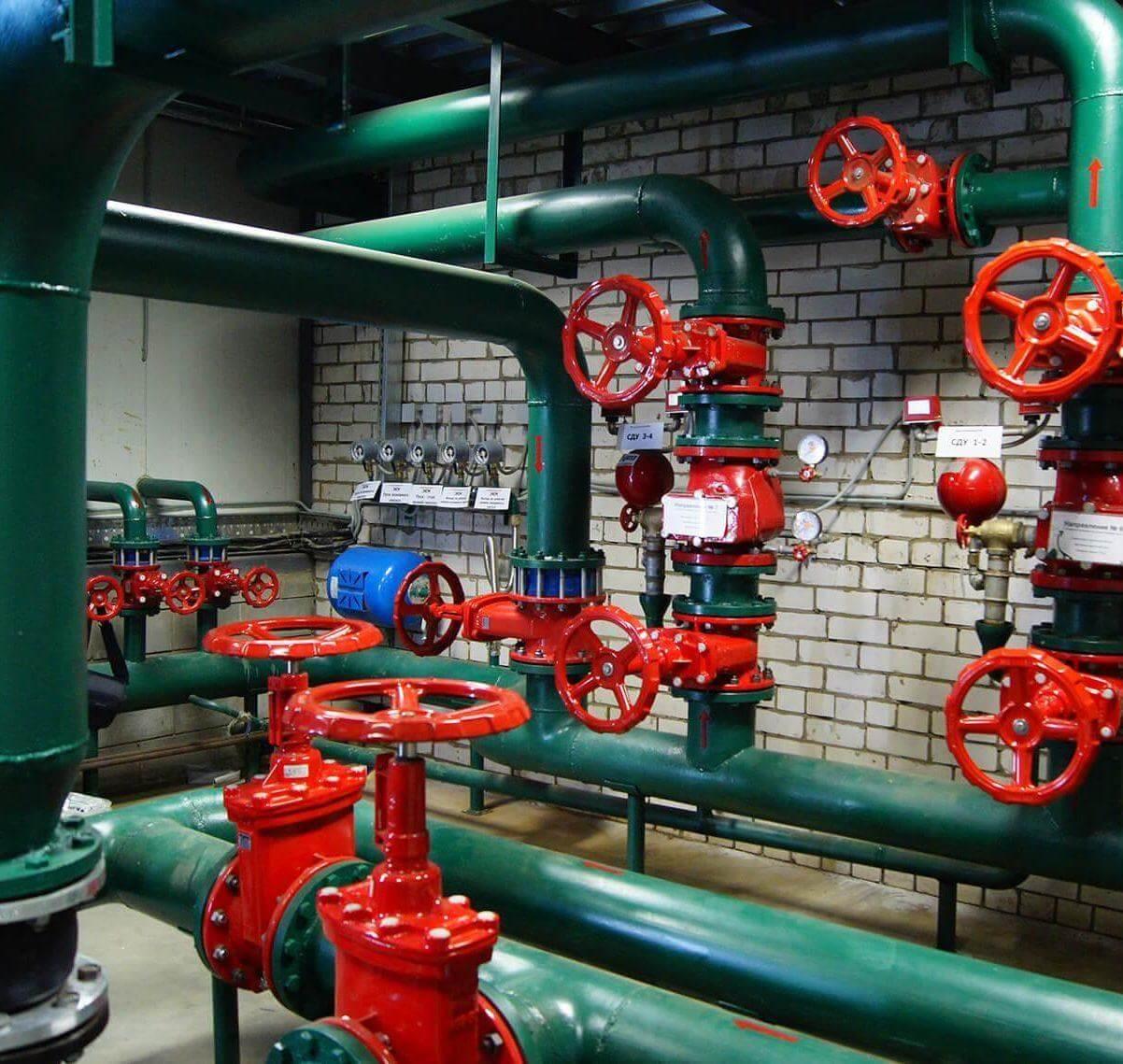 Проектируем, монтируем и обслуживаем противопожарный водопровод Фото #5